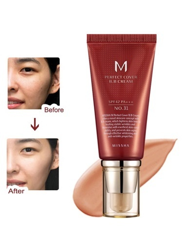 Missha M Perfect Cover Bb Cream No: 31 Bej
